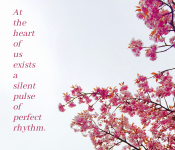 quote about perfect rhythm