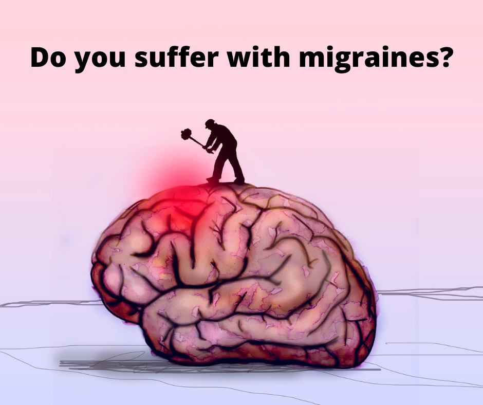 Do you suffer with migraines?